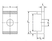 Metric Lockplate