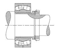 Push-Type Removable Sleeve, Locknut and Lockwasher