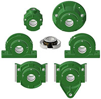 Split Block - Cylindrical Roller Bearing - Family Picture