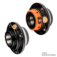 Type E Flange Piloted Bearing Side By Side