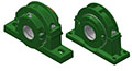 Split Block - Cylindrical Roller Bearing - S 2 and 4 BOLT