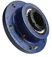 6-Bolt Round Flange Block Housed Unit