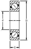 ACBB ISO Line Drawing - Single