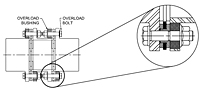 Disc Coupling - Overload Bushing Drawing