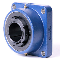 Timken-Mounted-Bearing-Housed-Unit-Double-V-Lock-Four-Bold-Square-Flange-Block