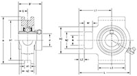 Housed-Unit-U-Series-UELT-Line-Drawing