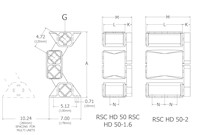 RunRight® RSC HD50 Drawings