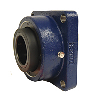 Timken-Mounted-Bearing-Housed-Unit-Single-Concentric-Four-Bolt-Square-Flange-Block