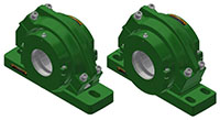 Split Block - Cylindrical Roller Bearing - SAFQ 2 and 4