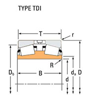 TRB TDI Cone Line Drawing