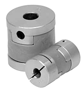 MOL Series - Oldham Clamp Style Coupling Hubs w/o Keyway - Metric