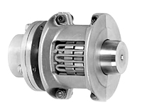 Grid Half Spacer Style Coupling Hubs w/ Horizontal Split Covers - Metric