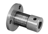 UFH Type Uniflex Couplings w/ Keyway, Regular Version, Flange-to-Shaft Configuration - Imperial