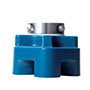 Blue-Poly-3-Bolt-Quiklean-Housing-with-FA-Poly-Round-Insert-with-Locking-Sleeve-S