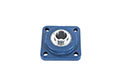 Blue-Polymer-4-Bolt-Flange-with-Stainless-Insert---Machine-B-A---FVSL613