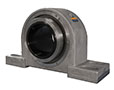 Corrosion Resistant SRB Solid Block SS - 4 bolt pillow block