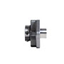 QF-Poly-Round-Machined-Stainless-3-bolt-Housing-with-High-Temp-Extended-Sleeve-S