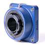 Timken-Mounted-Bearing-Housed-Unit-Single-V-Lock-Four-Bold-Square-Flange-Block