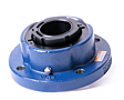 Timken-Mounted-Bearing-Housed-Unit-Single-V-Lock-Round-Flange-Block