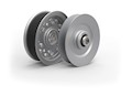 RunRight® Steel Idler Pulley