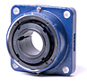 Timken-Mounted-Bearing-Housed-Unit-Tapered-Adapter-Four-Bolt-Square-Flange-Block