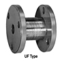UF Type Uniflex Coupling Hubs, Flange-to-Flange Configuration - Imperial