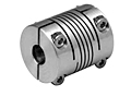 ASB Series - Aluminum Single Beam Clamp Style Couplings - Metric