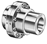 FLAMM Type Flex-Flex Mill Motor Coupling Hubs w/ Rough Stock Bore - Imperial