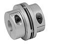 MDSD Series - Mini Disc Single Disc Clamp Style Couplings - Imperial